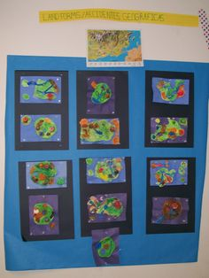 Landform Projects on display