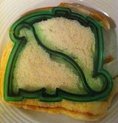 Nanny of All Trades: Sandwich Shapes  A fun way to enjoy a sandwich