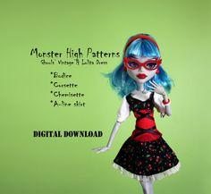 Easy Monster High custom Vintage & Lolita doll by DGRequiem, $3.00