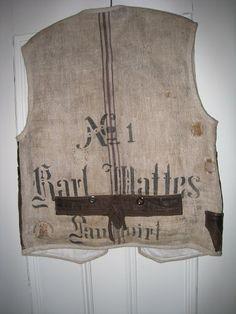 grain sac vest back