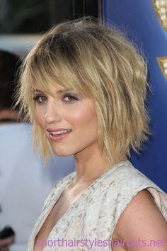 I like the choppy hair cuts