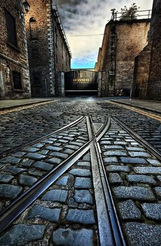 The Guinness Brewery, Dublin, Ireland?  Guinness for breakfast sounds great to us...
