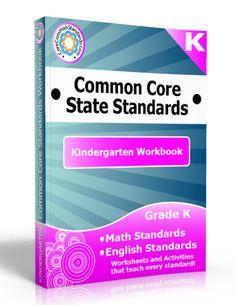 Description: Kindergarten Workbook, Kindergarten Common Core Workbook, Kindergarten Common Core Standards Workbook, Kindergarten Common Core...