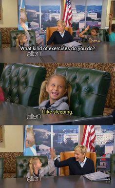 Hahaha yesss Ellen