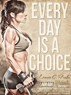 EVERY DAY IS A CHOICE... CHOOSE WISELY!