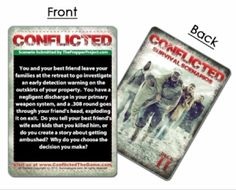 Conflicted Card Game Review