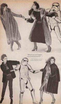 The Force of Fur Vogue November 1977 Photography: Ishimuro