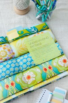 mastering the art of fabric printing and design by laurie wisburn | acreativemint.typepad.com