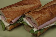 Ham and Brie Sandwich Recipe | Quick and healthy Trader Joe's recipes