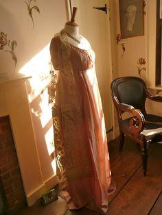 Marianne's Ball Gown from the BBC's  2006 adaptation of Sense and Sensibility @Kitty Edisto Israel'sHouseMusuemBlog