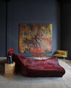 Zaha Hadid, Piero Lissoni, Ettore Sottsass, Campana brothers. Artwork by Ming Ren. Exhibition by modernexpert