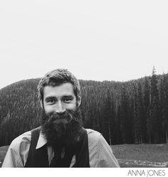 God Bless America & Heavily Bearded Men… #beard #portrait #mountains