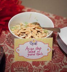 Opal Chop Chop Salad! #OpalApples #Party