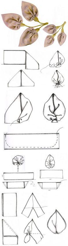 Как сделать повязку для головы из лент