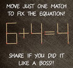 "I love brain teasers! Share this if you know the answer! Hint: there's more tha one right way <a class=""pintag searchlink"" data-query=""%23CompleteMarketingMix"" data-type=""hashtag"" href=""/search/?q=%23CompleteMarketingMix&rs=hashtag"" rel=""nofollow"" title=""#CompleteMarketingMix search Pinterest"">#CompleteMarketingMix</a>"