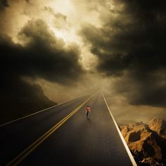 Destination sky by Albulena Panduri [Photo-manipulation]