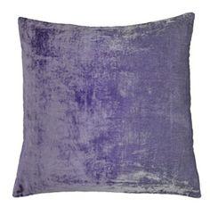 ombre velvet pillow - blue