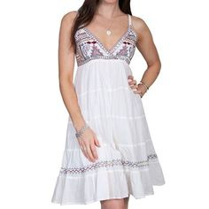 Scully Women's Embroidered Sundress