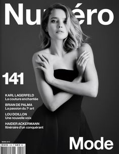 Natalia Vodianova by Karl Lagerfeld for Numéro #141, March 2013