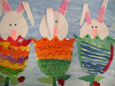 Tulips and Bunnies for Easter