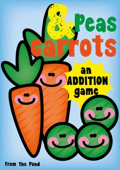 Peas and Carrots - FREE Addition Game