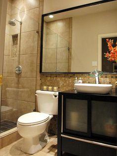 mirror, modern bathroom, decorating bathrooms, small baths, tile, small bathrooms, bathroom designs, shower, bathroom ideas