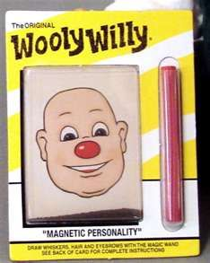We had these Wooly Willy magnetic toys in the 1960's when we were kids ... remember this, memori, toy, road trips, childhood, magnet, wooli willi, kid, car trips