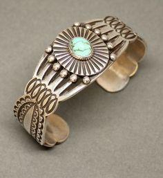 McKee Platero Bracelet with Turquoise