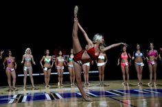 Pics from the Sacramento Kings Dance Team Tryouts