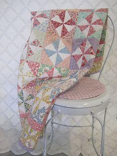 Pinwheels and 1930's Fabrics