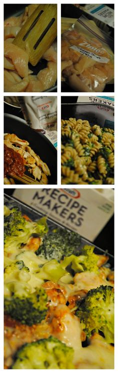 Three Cheese Chicken Florentine Easy Meal Simple dinner ready in no time! #KraftRecipeMakers #Shop #CBias