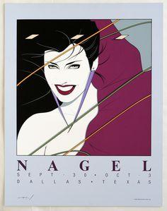 """Rio"" Illustration by Nagel - use on Duran Duran first album"