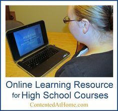 Online Learning Resource for High School Courses