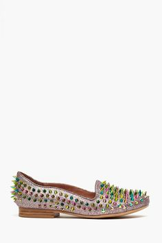 Digi Spike Loafer in Rainbow
