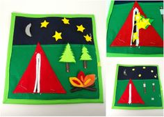 under the stars, sew project, camping, quiet books, sew idea, book pages, busi book, felt craft, sisterswhatblogspotcom