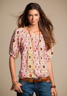 Lucky Brand- absolutely love this top!