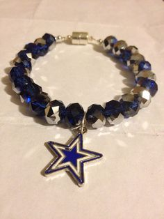 Dallas Cowboys Bracelet  on Etsy, $30.00
