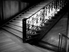 Steps that echo.
