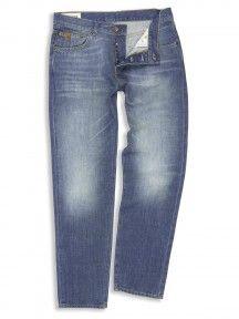 Indigo Turnmill Slim Leg Jeans