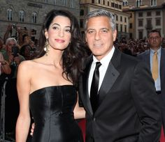 George Clooney & Amal Alamuddin's wedding photos are freaking gorgeous.