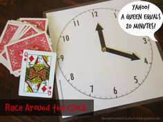 Relentlessly Fun, Deceptively Educational: Race Around the Clock Game