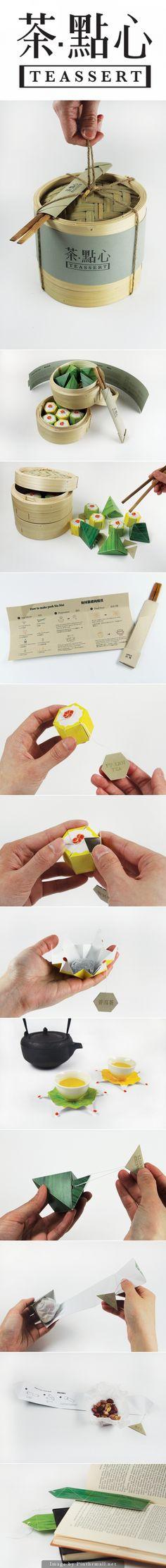 Too pretty not to share the entire Teassert #packaging pin PD - created via https://www.behance.net/gallery/Teassert/15883085