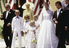 Princess Caroline of Monaco and the Grimaldi French banker Philippe Junot, June 28-29, 1978.