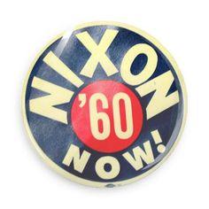 Vintage campaign button