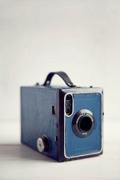 Kodak Portrait Brownie #vintage #camera