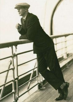 Gary Cooper, 1920s. Love the socks.