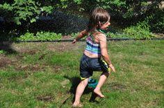 Non-Toxic Homemade Bubbles and 5 More Fun Backyard Activites