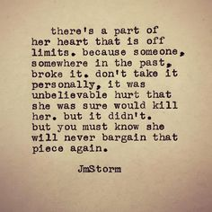 This makes me think of a friend of mine... He broke her heart... But someday when she heals she will be stronger for it.... But yes this makes so much sense! ??????