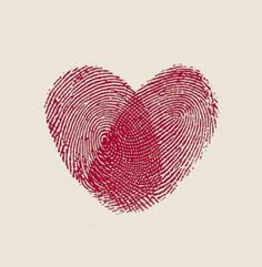 Corey and I are wanting to get a Couples tattoo. Do I think I could talk him into this? :) Two fingerprints together into a heart. Cute couples tattoo idea!