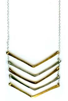 Chevron Neckalace